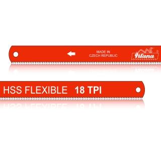 Hoja de sierra manuales de acero rápido HSS FLEXIBLE