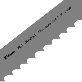 Hoja de sierra de cinta M51 GRINDCUT PROFI